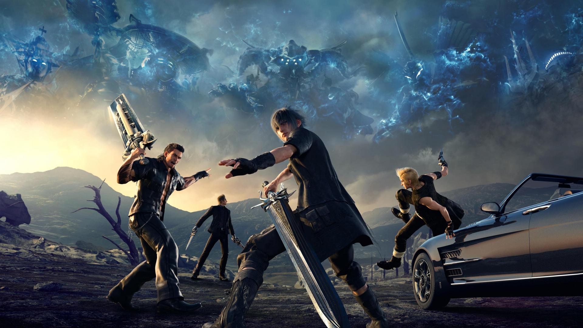 155 гигабайт на жёстком диске потребуется для запуска Final Fantasy XV