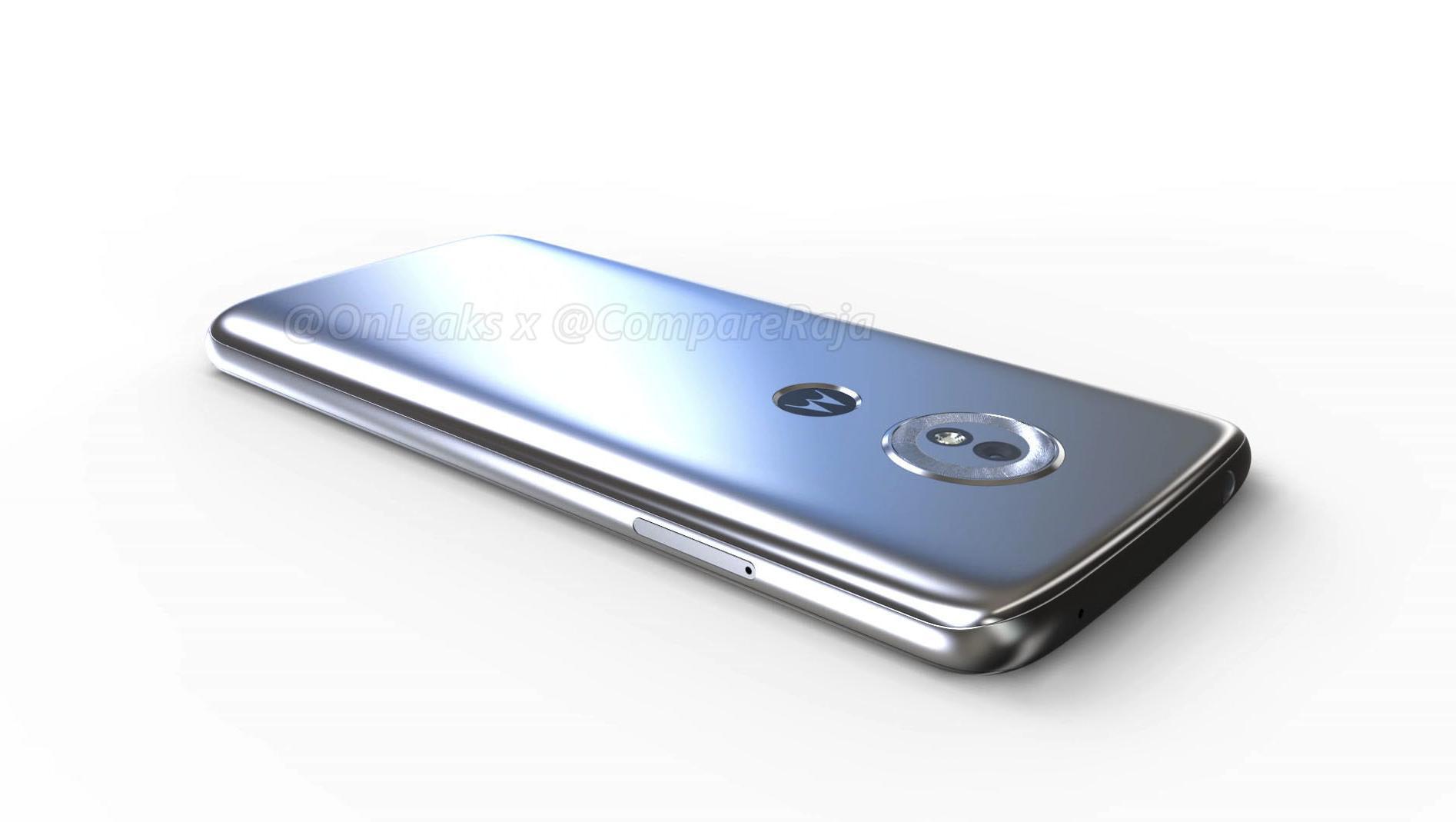 Moto G6 Play позирует на фото, не скрывает спецификации