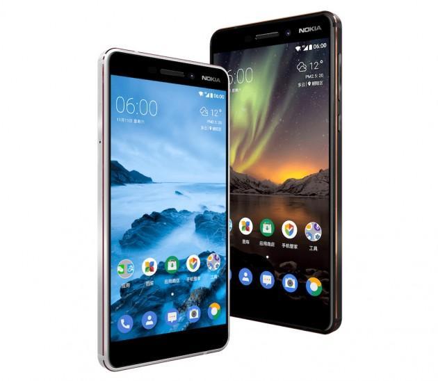 Nokia 6 обновилась - модель 2018 года
