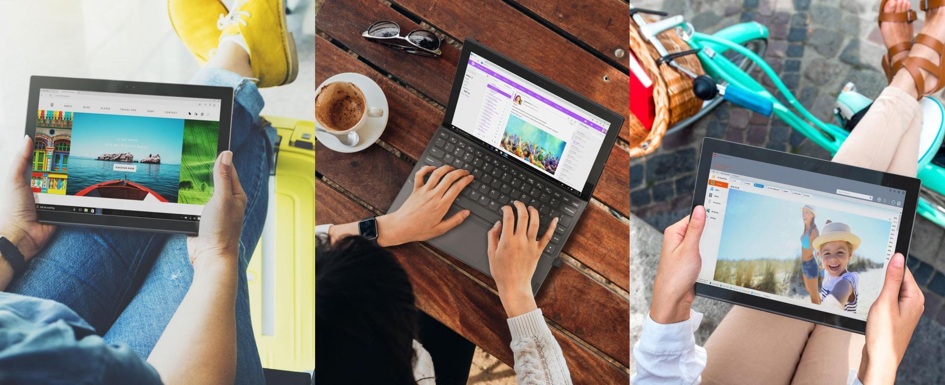 Ноутбук Lenovo MiiX 630 на базе Snapdragon 835