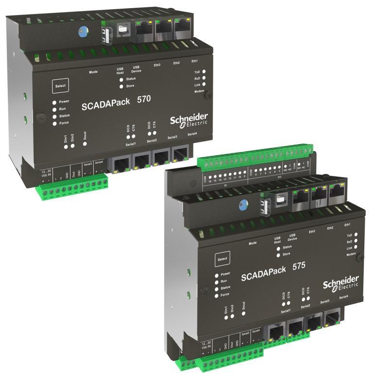 Новинка от Schneider Electric: контроллеры SCADAPack 570/575 rPAC с программным обеспечением RemoteConnect
