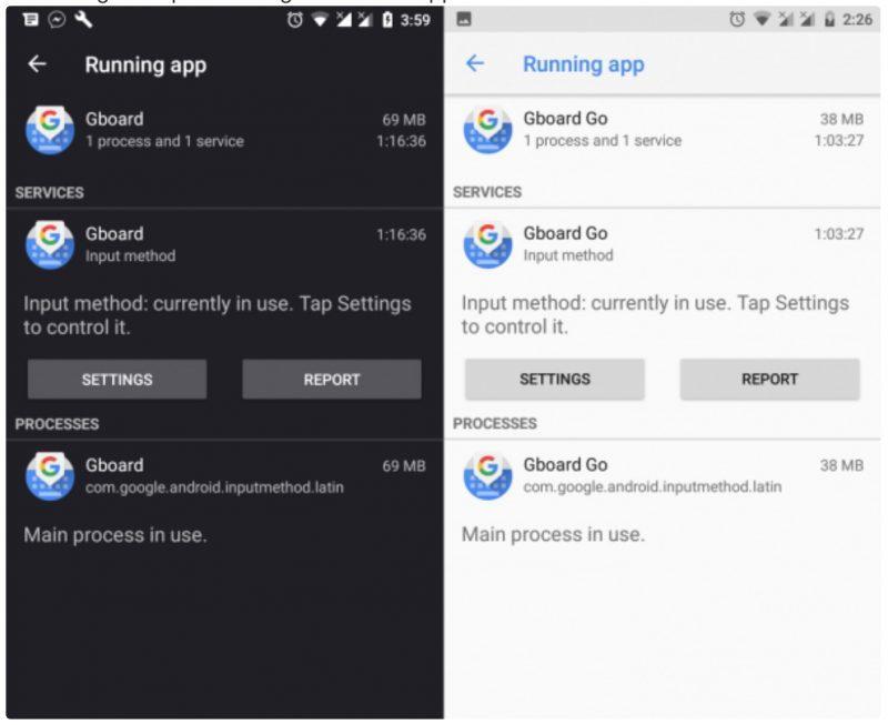 Облегчённую клавиатуру Google Gboard Go уже можно скачать для Android 8.1