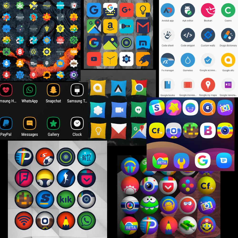 Платное бесплатно: 8 наборов иконок для Android (22.01.2018)