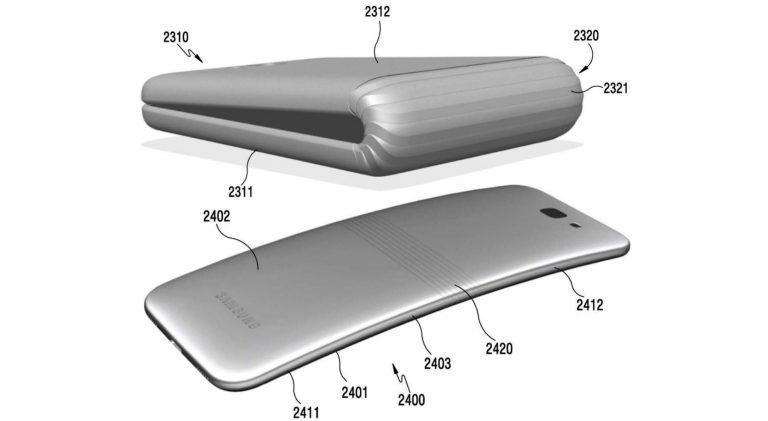 Samsung приватно показала гнущийся смартфон на CES 2018