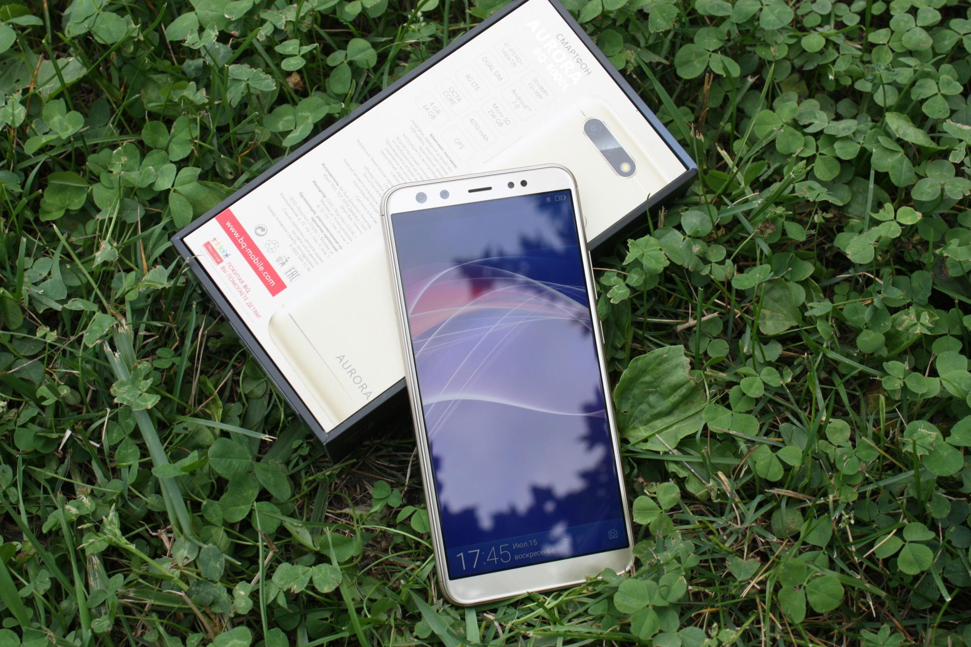 Обзор смартфона BQAurora (BQ-6000L). После месяца использования