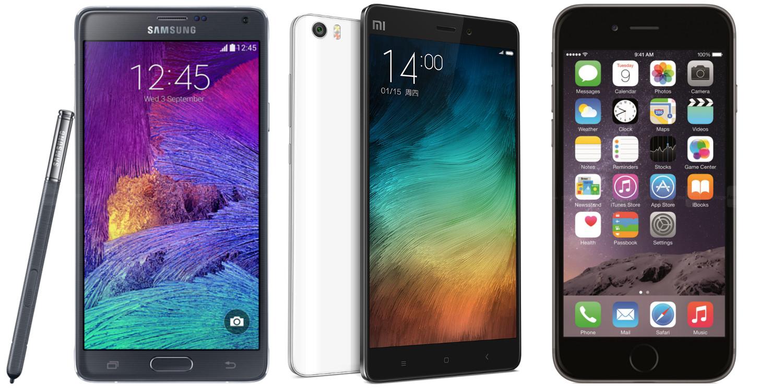 Xiaomi Догоняет Apple навторичном рынке