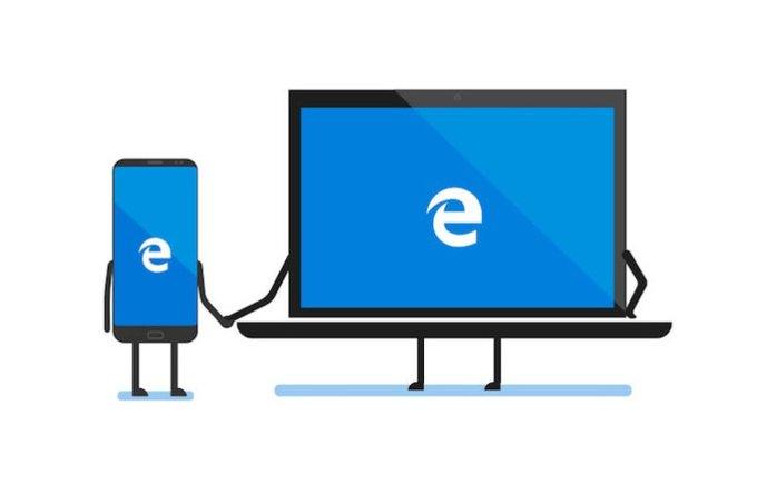 Браузер Microsoft Edge для Android скачали более 5 миллионов раз