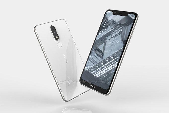 Nokia 5.1 попытались изобразить нарендерах