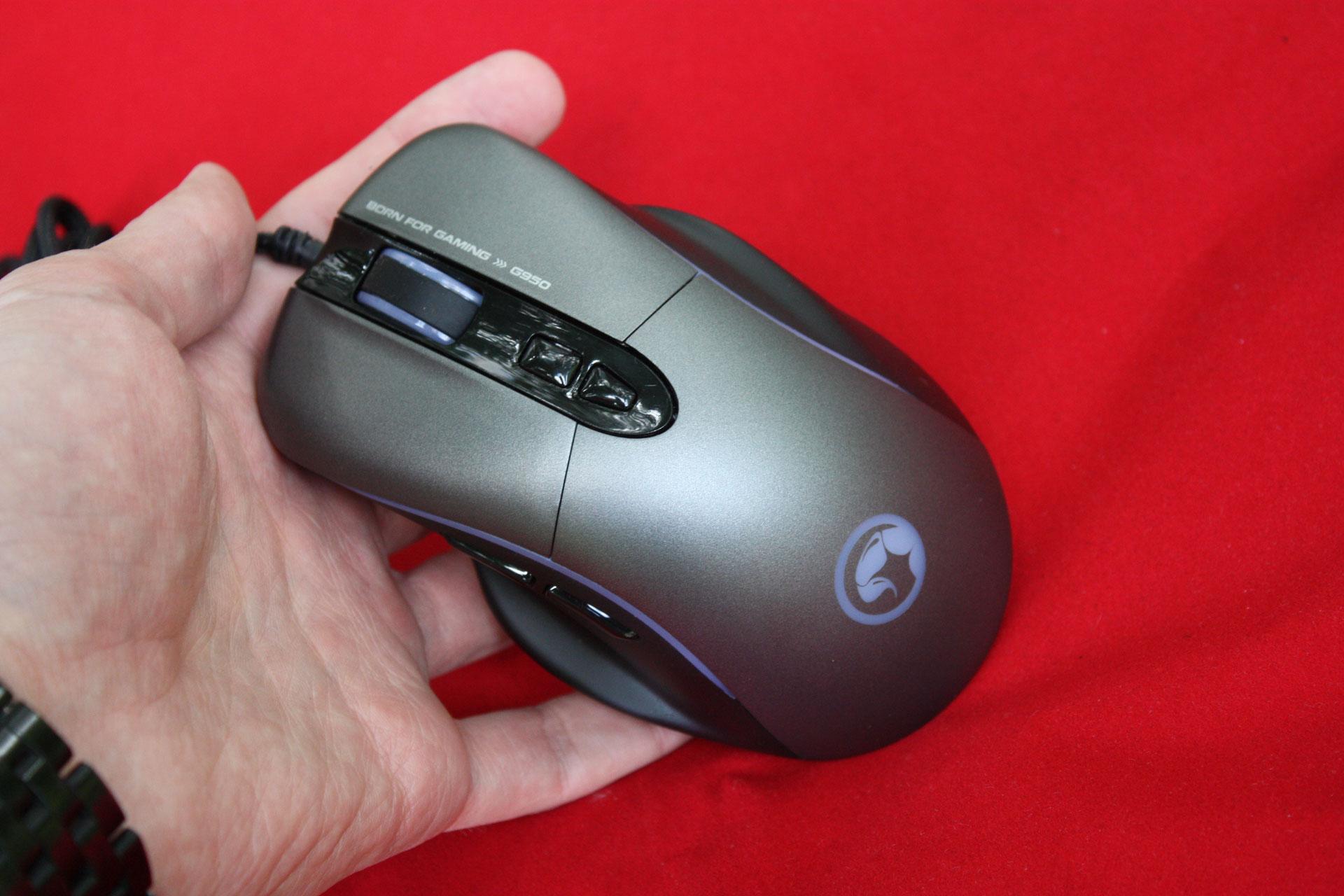 Обзор игровой мыши Marvo G950