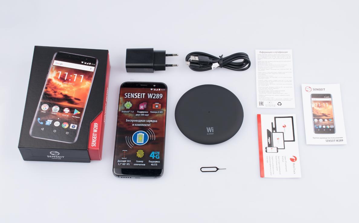 SenseitW289 — смартфон сбеспроводной зарядкой отроссийского бренда пошёл впродажу