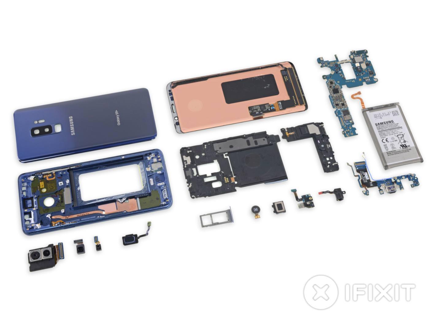 Ачто если разобрать Samsung Galaxy S9? Легколи ончинится?