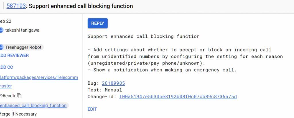 Android P получит расширенную блокировку нежелательных звонков