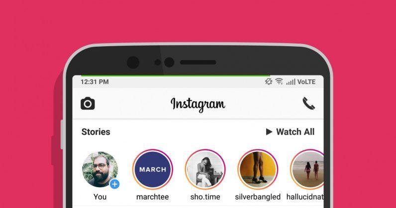 Instagram может получить аудио и видеозвонки