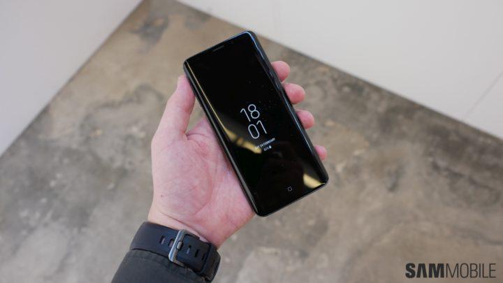 Некоторые владельцы Galaxy S9 жалются напроблемы сенсора экрана