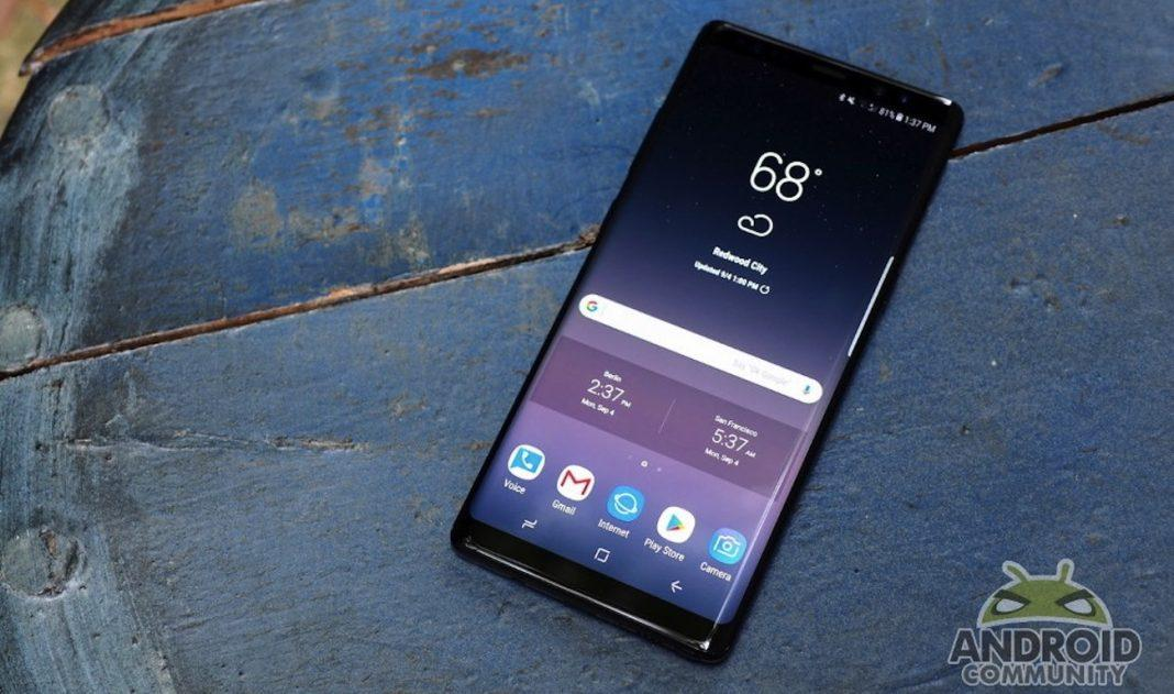 Samsung Galaxy Note 8 скоро начнёт обновляться до Android Oreo