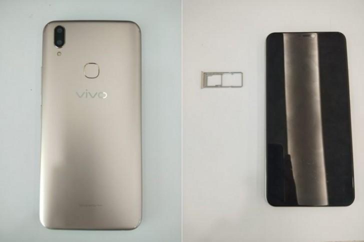 Vivo V9 появился нафото всети доанонса 27 марта