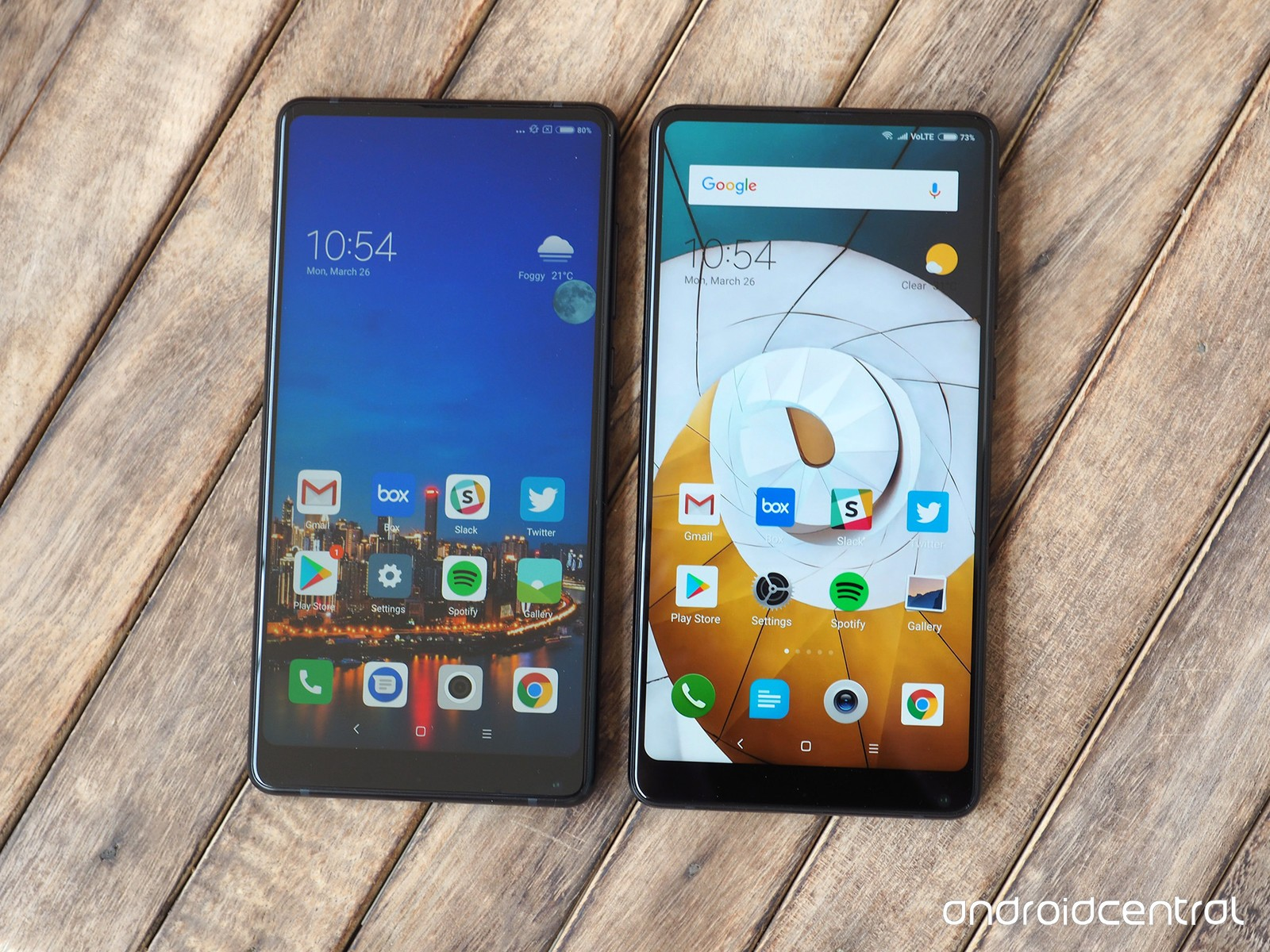 Xiaomi MiMix 2S впечатляет публику официально