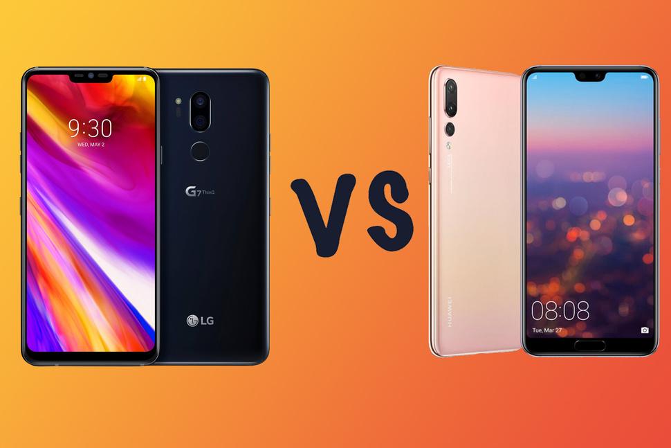 Блиц-сравнение: LGG7 ThinQ или Huwei P20