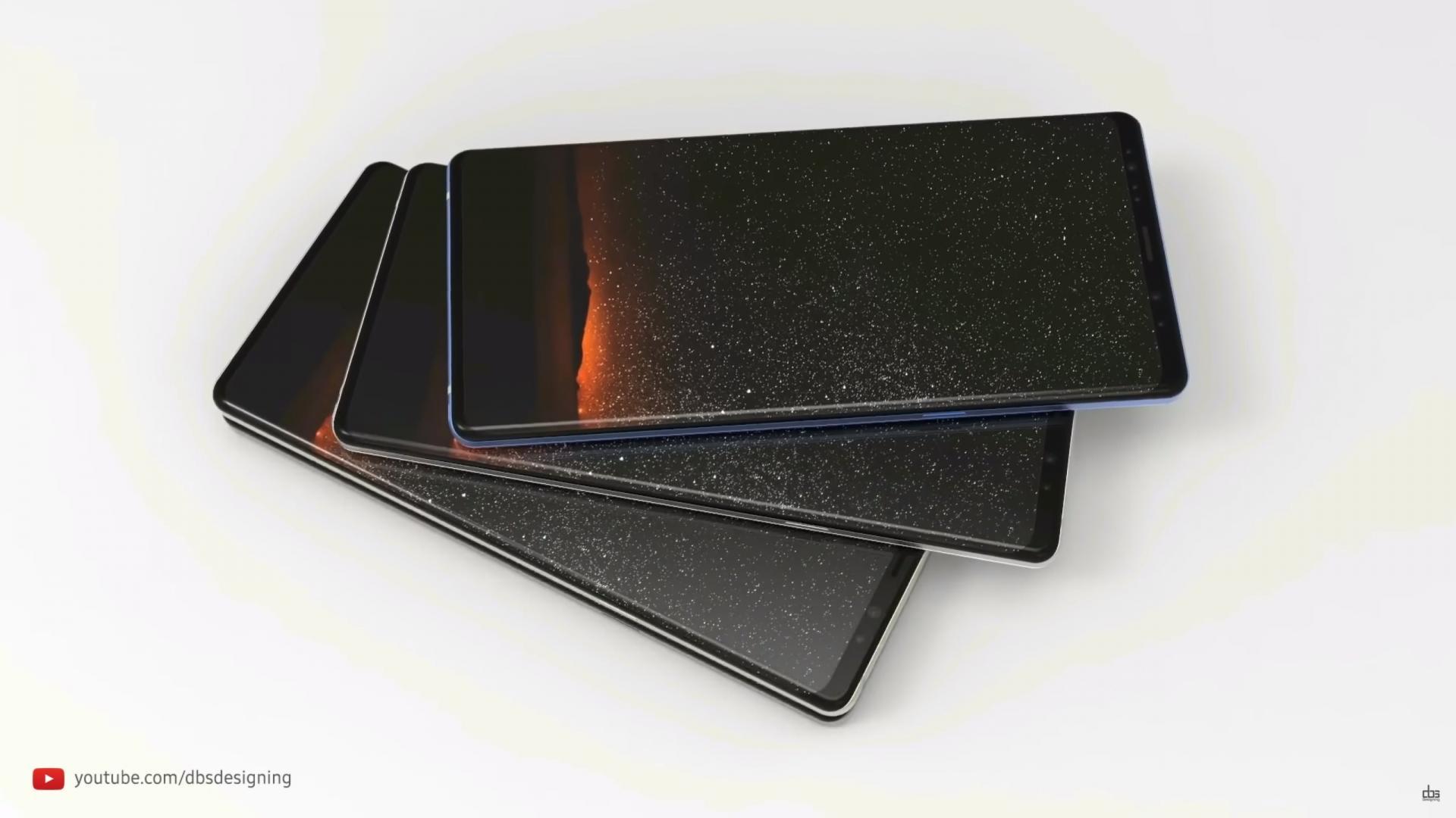 Galaxy Note 9 может выйти спамятью 8+512 гигабайт