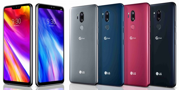 LGG7 ThinQ представлен официально