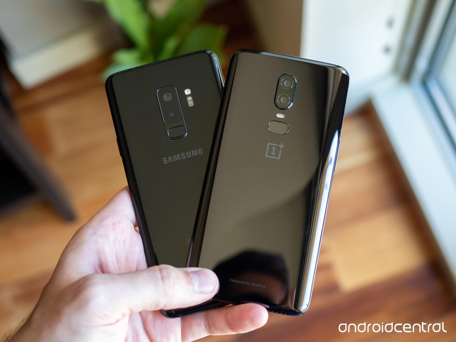 OnePlus 6 иSamsung Galaxy S9, кто предпочтительнее?