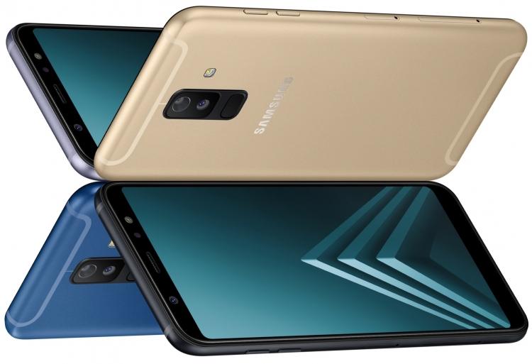 Samsung Galaxy A6/A6+ теперь можно купить ивРоссии