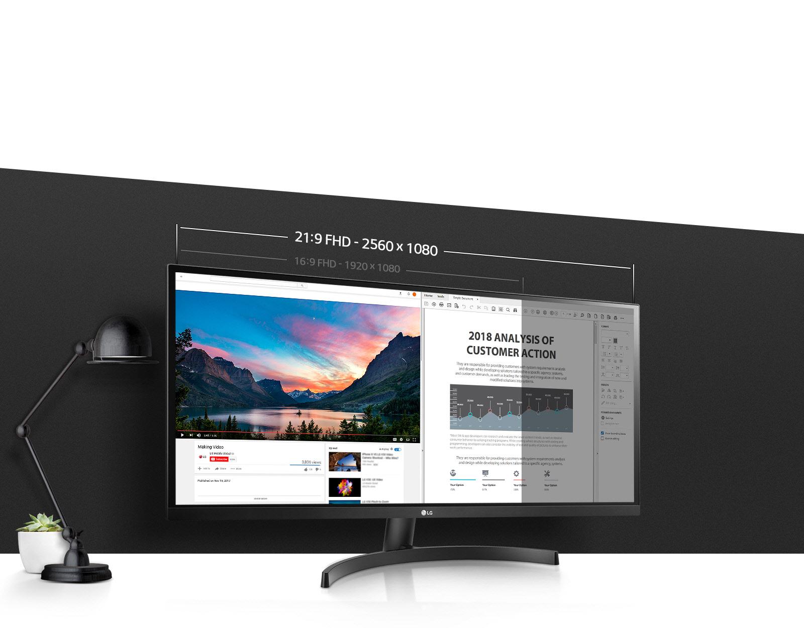 Ultrawide мониторыLG29WK500 иLG34WK500: чёткость изображения имногозадачность