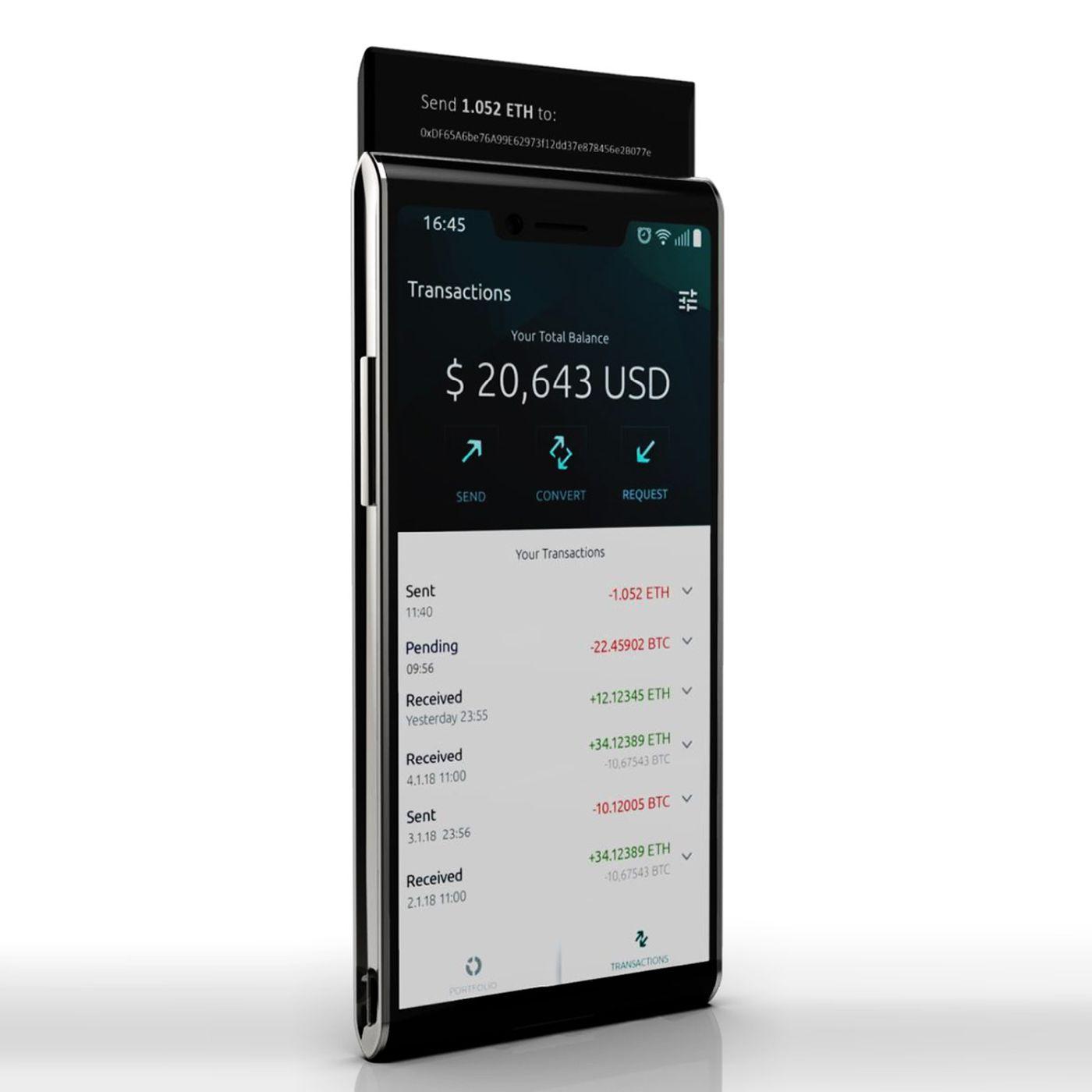 2 экрана, слайдер, Snapdragon 845иблокчейн — новый смартфон Finney