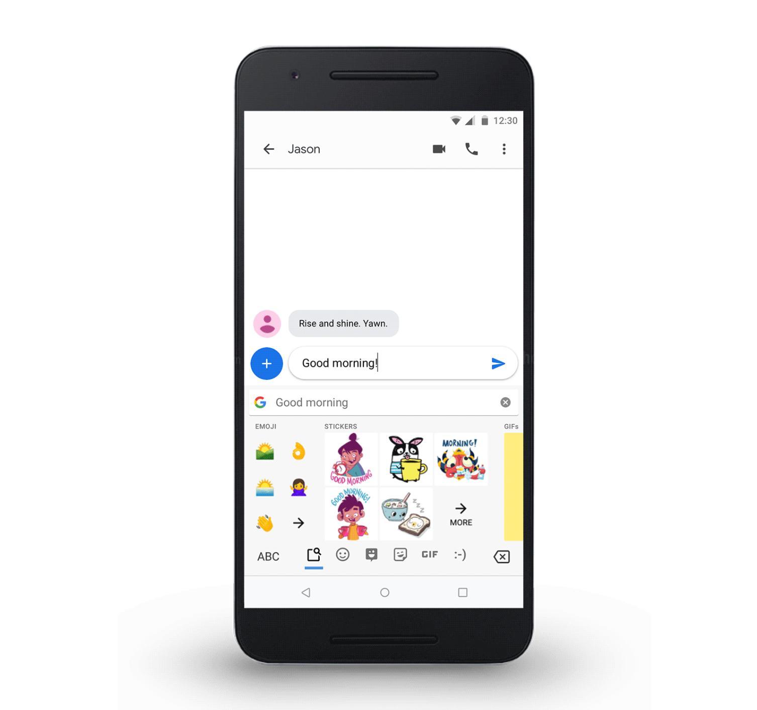 Google встроила искусственный интеллект вклавиатуруGboard