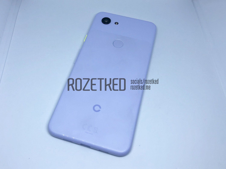 Лайтовый поцене испецификациям Google Pixel 3 Lite позирует нафото