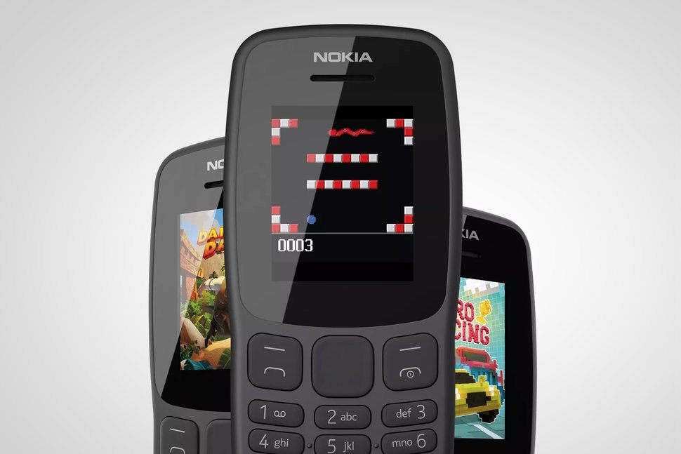 Nokia предлагает новые кнопочные телефоны