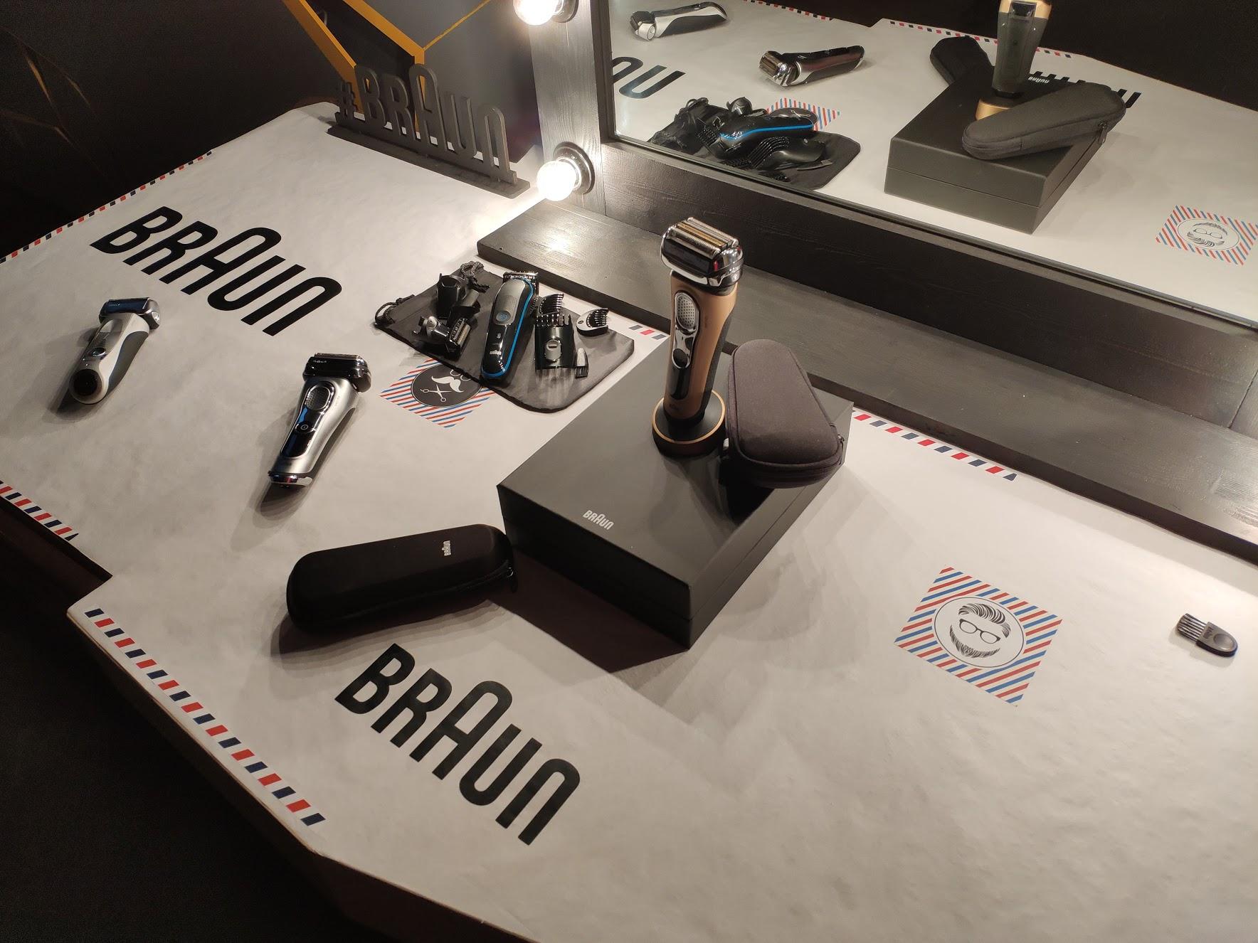 Обновление линеек электробритв Braun