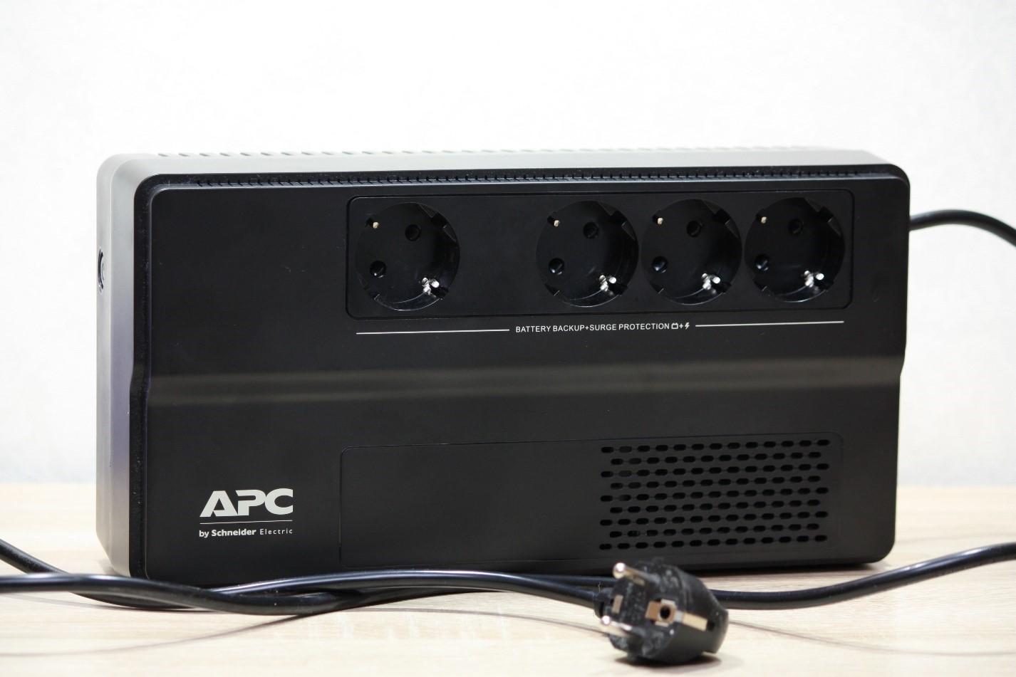 Обзор источника бесперебойного питания APC BV1000I-GR