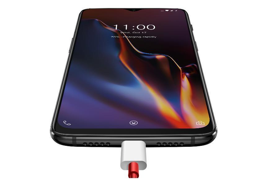 Oneplus 6T увидел свет — навороченный смартфон скаплевидным вырезом