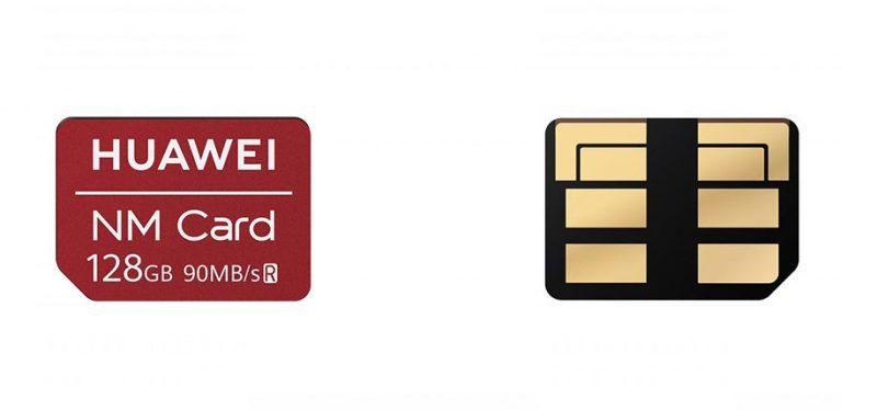 Что мызнаем окартах памяти NMCard, предложенных Huawei?