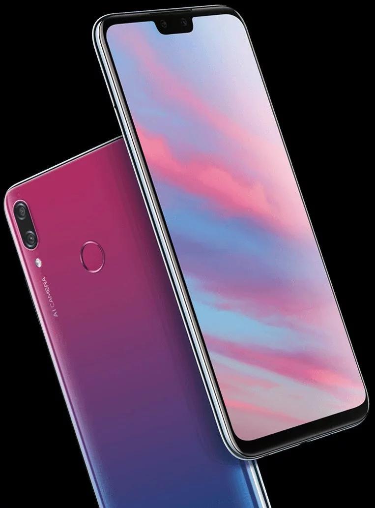Huawei Enjoy 9 нарендере исоспецификациями
