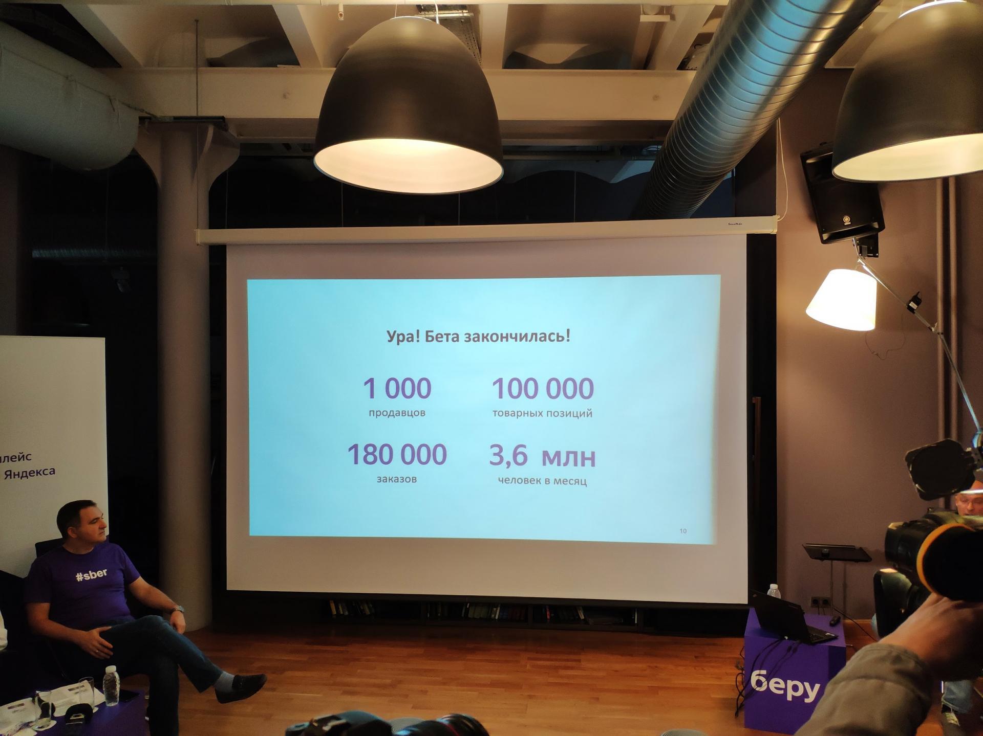 Яндекс иСбербанк запускают маркетплейс Беру!