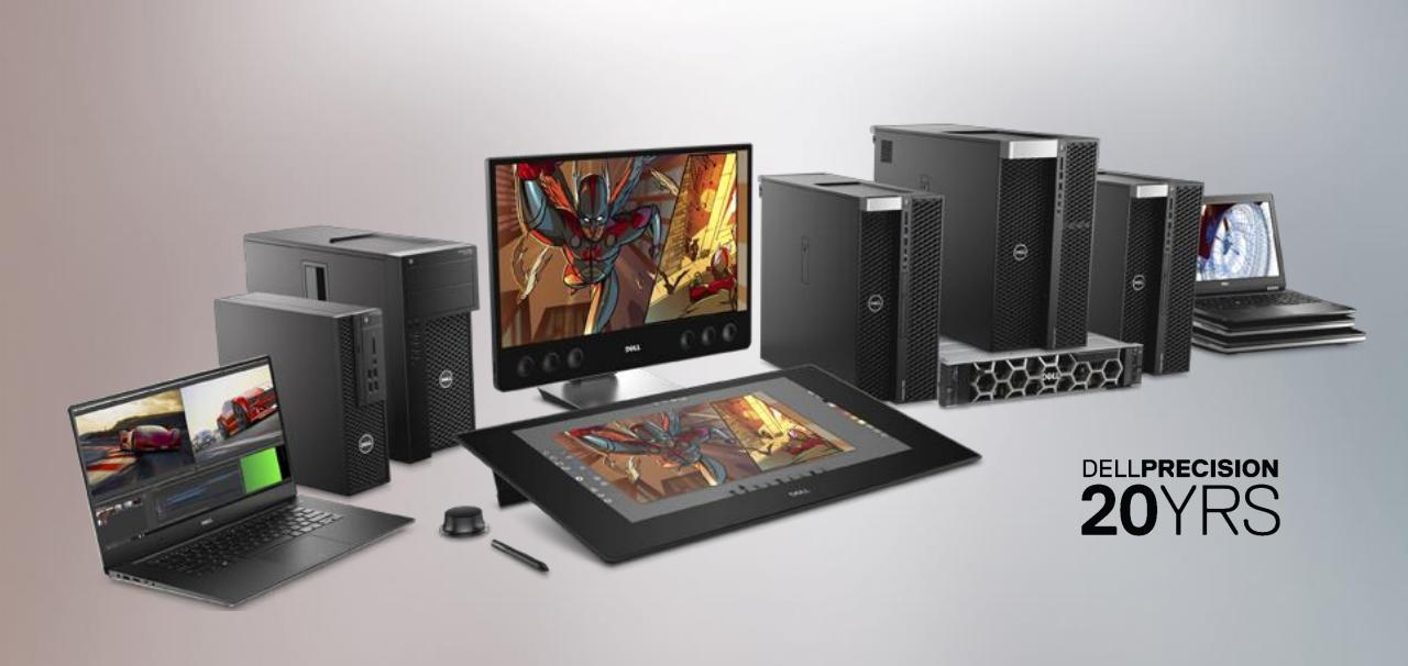 Dell представила обновлённые рабочие станции