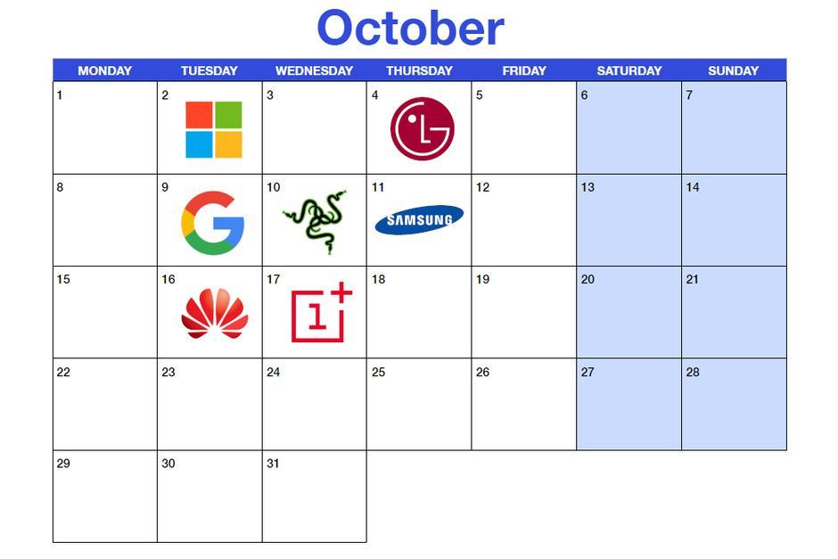 Какие важные технорелизы октября ждут нас?