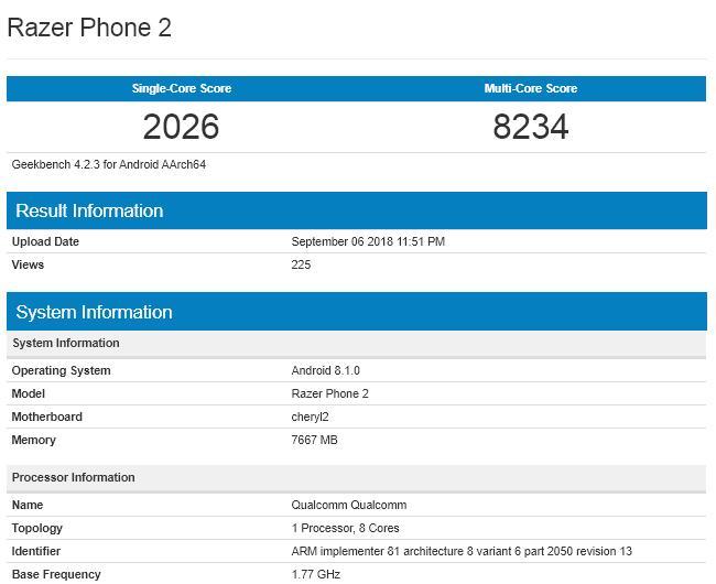 Мощнейший Razer Phone 2 уже близко. Пора взглянуть