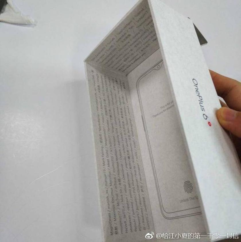 OnePlus 6T обзаведётся подэкранным сканером отпечатков. Покажут его уже 17 октября