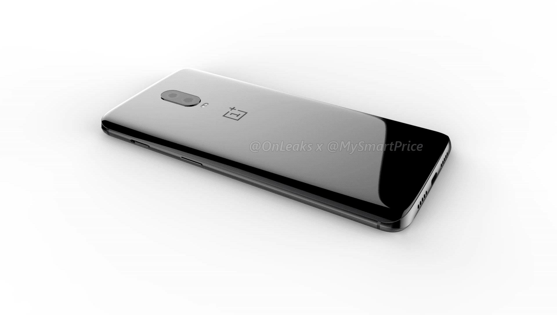 Рендеров OnePlus 6T прибыло. Совсех ракурсов иуглов