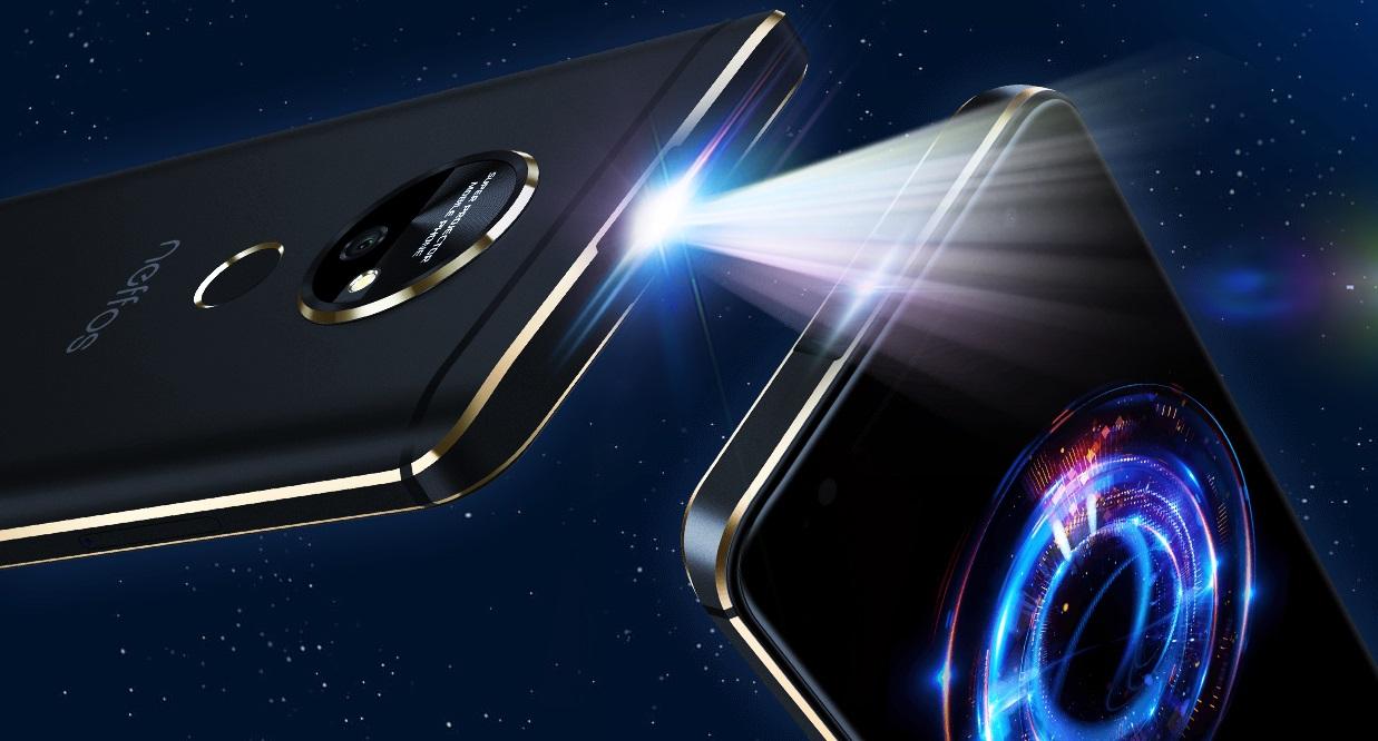 Смартфон Neffos P1 получил встроенный лазерный проектор