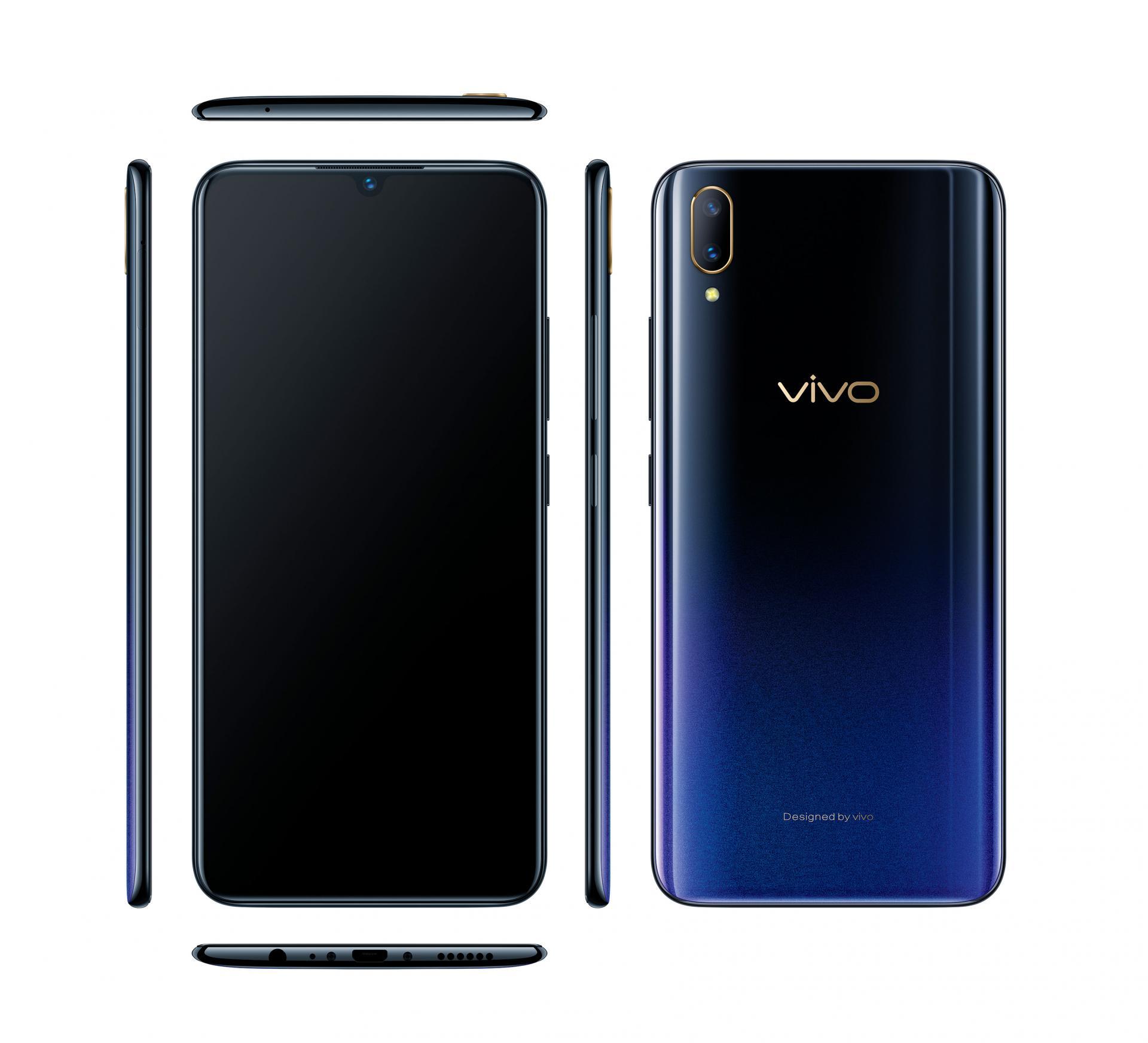 Vivo хвалит камеру иподэкранный сканер отпечатков свежего смартфонаV11