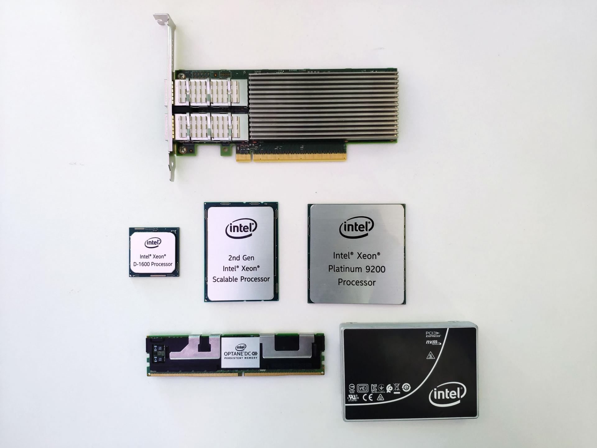 Intel показала процессоры Xeon второго поколения, новые Optane иSSD накопители для серверов