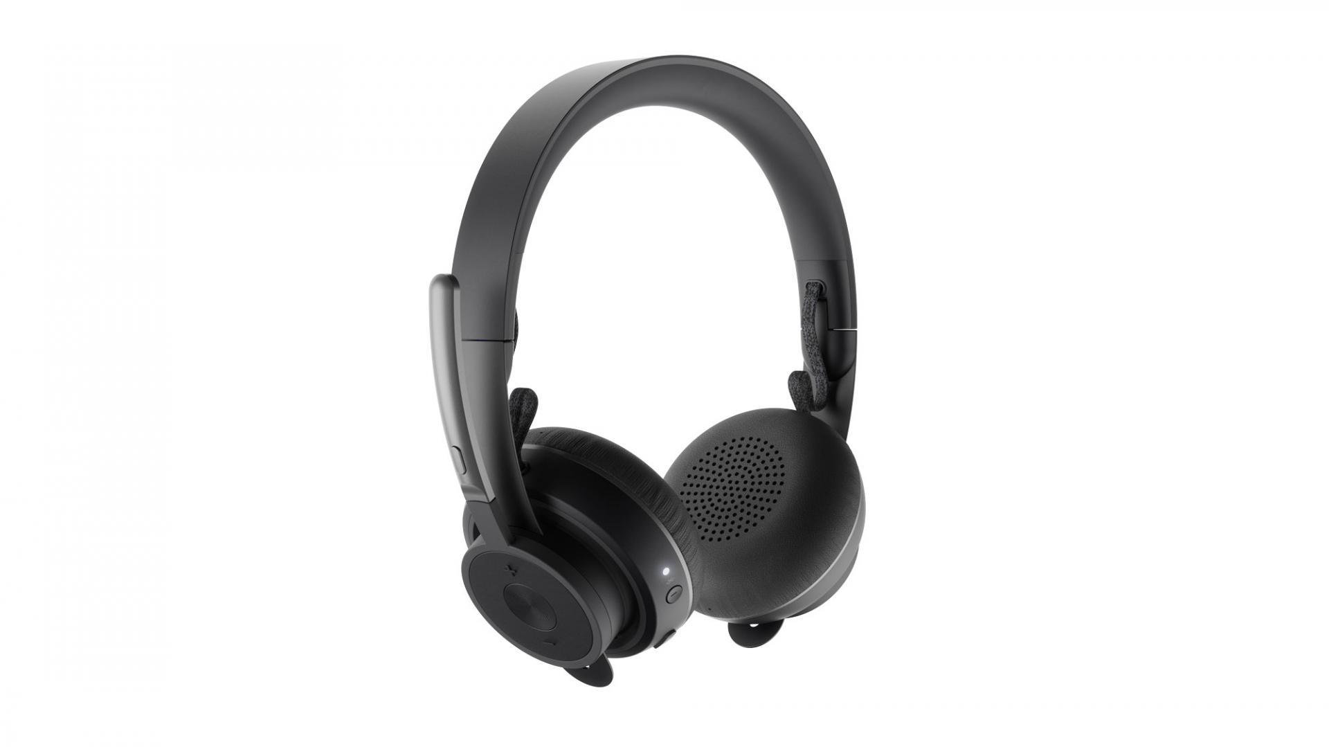 Logitech предлагает гарнитуры для прослушивания музыки вофисе: Zone Wireless иZone Wireless Plus