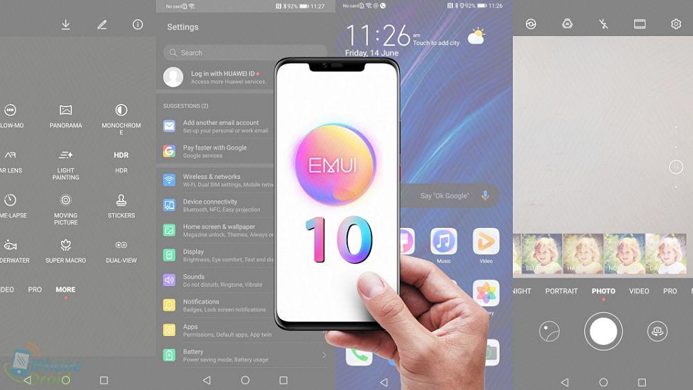 Huawei обещает начать раздачу EMUI 10 уже наэтой неделе