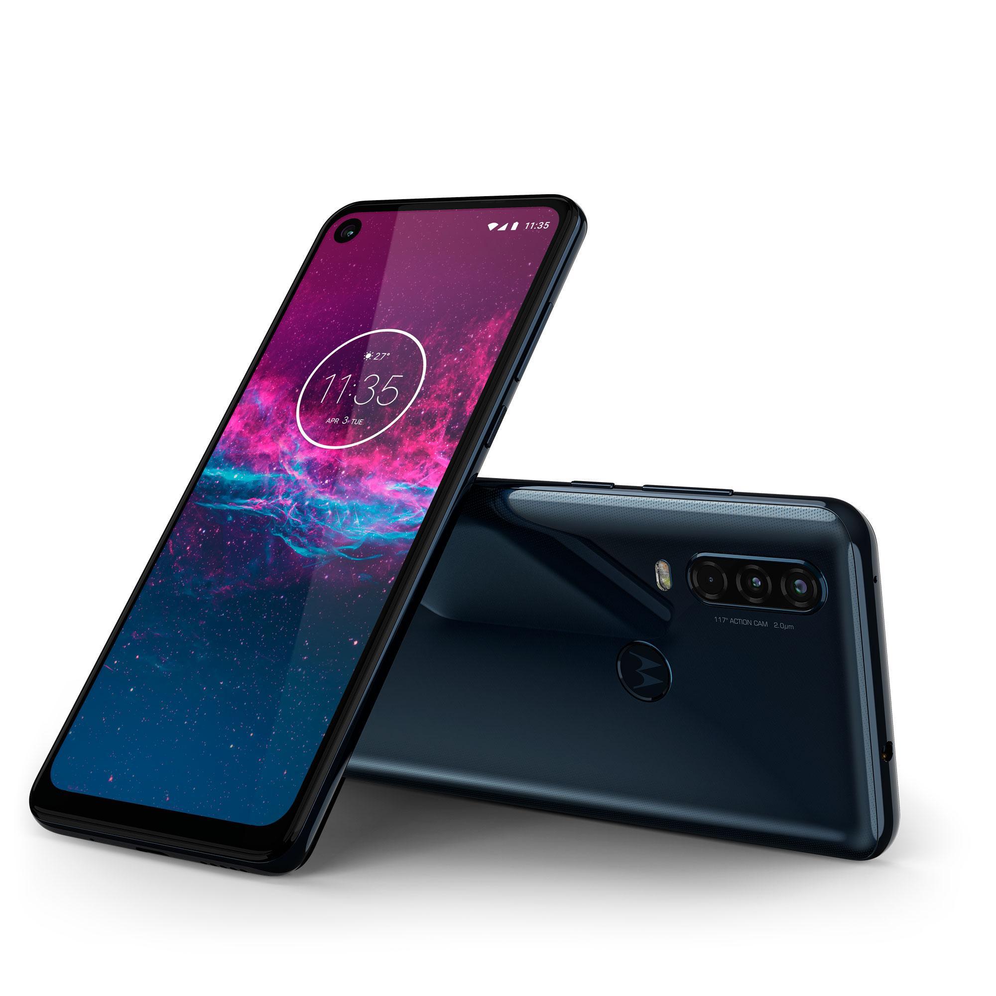 Motorola One Action поступает впродажу вРоссии