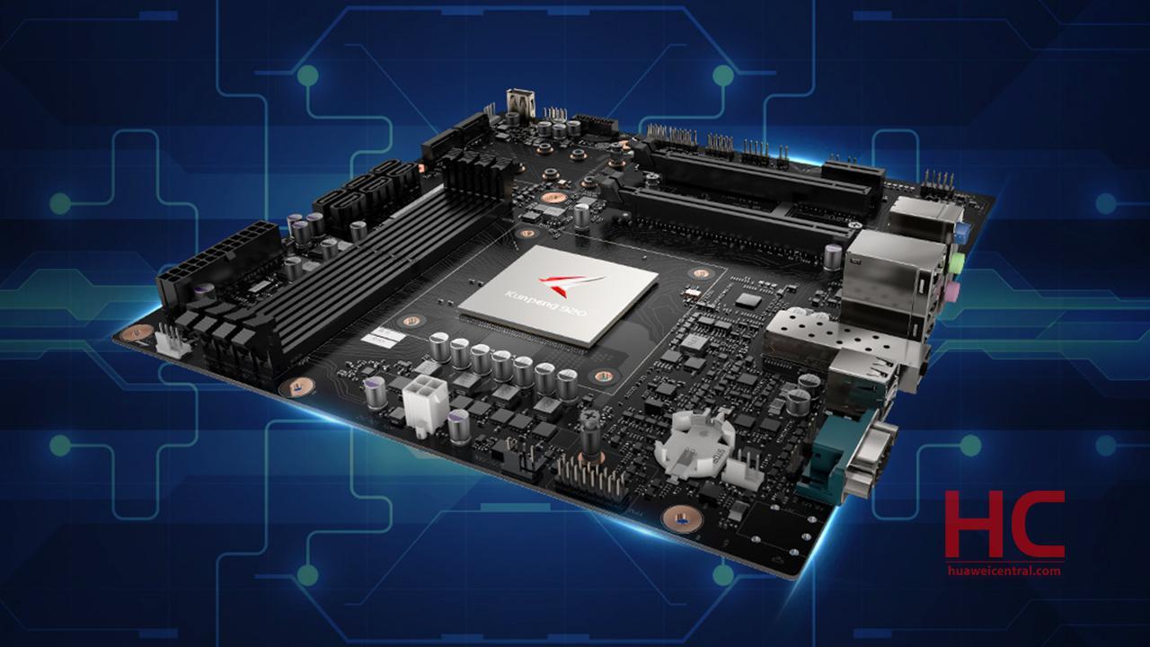 Huawei планирует выпустить материнскую плату для ПКспроцессором Kunpeng 920