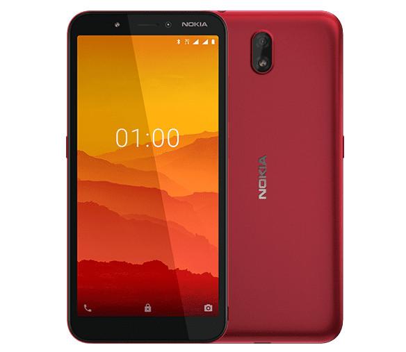 Nokia представила дешёвый смартфон C1 наAndroid 9 GOEdition